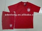 Men's 100% Polyester Breathable Wholesale Soccer Team Wear