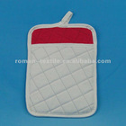 White Color Non-Printe Polyester Pot Holders