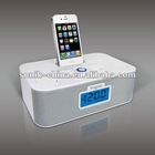 Docking Speaker for iPhone 4S 3GS, iPod with clock radio