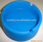 round silicone ashtray in exist mold