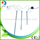 Color IP65 0.5 0.6 0.8 meter Double Sides icicle meteor light