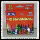 12 Color Children Wax Crayon/School Drawing Color box