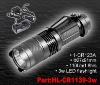 rechargeable 3watt CREE LED flashlights