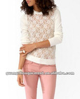 Lady Sheer Lace Front Tops