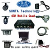 ST503-Car 4 CH colour quad splitter with TFT LCD Monitor