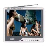 Portable 8'' Color TFT LCD TV Monoitor with VGA Jack,Mini PC Monitor