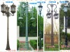 cast iron/aluminum antique garden lighting