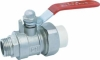 PP-R male joint ball valve