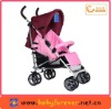 Aluminum stroller with 5 adjustable backrest
