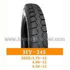 HY-245 haoyuan 4.00-12,4.50-12,3.75-12 motorcycle tyre