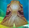 Newest design sublimation basketball jersey