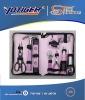 18pcs pink tool set