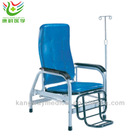 Adjustable Stainless Steel Hospital Infusion Chair with Footrest