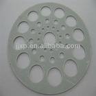 new round metal accessories & metal trays for kitchen or bathroom sink