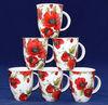 ceramic mug with flower print