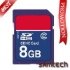 #samtech# Hot sale OEM SD card with Logo print,256MB-64GB,color(black,blue etc)