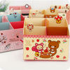 Cute paper storage boxes with cartoon