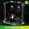 Transparent acrylic wine holders,Acrylic display
