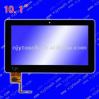 capacitive touch screen 10 inch 10.1""