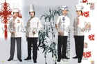 white chef uniform