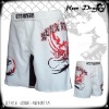 New short 100% polyester printed customized mma shorts