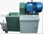 Biomass charcoal bar extruder machine