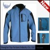 Mens hoody soft shell jacket