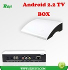 Hot OS Android 2.2 V6 Processor 1GHz CPU DDR2 512MB RAM 2GB ROM HDMI Wifi 1080P Android TV Box