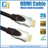 HDMI Metal Cable, Metal HDMI Cable, HDMI to HDMI Metal Cable, Support 3D 1080P