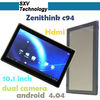 New Zenithink C94 Quad Core Tablet PC with 10.1 inch 1024x600 Pixels RAM 8GB 2MP Dual Camera