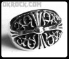 WHOLESALE GOTH RING RING R-083