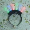 6 fibre LED flashing headband