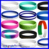 USD 0.06/PC Cheap Promotion Silicone Wristband