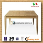 (kdi-001) 2012 new design wooden dining table