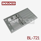 New model R19 Italy design stainless steel sink BL-721