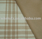 double-faced plaid fabric