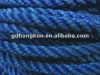three stands pe braided rope /twine
