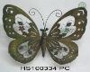 2010 Metal Wall Butterfly Decor