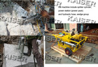 Hydraulic Rock and concrete Splitter