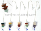 HPP489 Modular Pendulum gemstone beads pendant