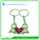 2012 Hot Key Chain Metal with Heart Shape