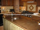 Brown modern polished Granite bar/table countertop