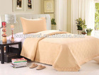 Italy quilted embroidery bed cover