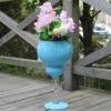 Facory supply Blue Mosaic Vase