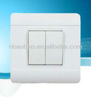 2gang 2way Flush Type Wall Switch
