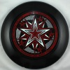 175g Professional Ultimate Frisbee/Disc-Five Star Black
