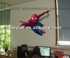 3d wall sticker (spider-man)