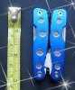 PB860--420/430 stee aluminium oxidation with 9 accessories multi tool mini plier