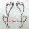 fashion earring accessory with double heart-shaped EH095---2108T