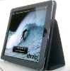 PU leather name brand case for ipad MD121101